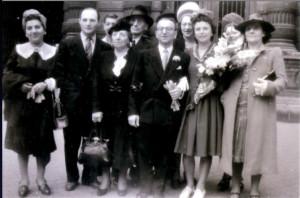 Mariage Maurice Steinschneider 2 Aoüt 1945