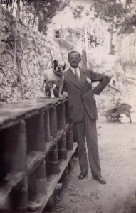 Doc.E. Alexandre Voronoff au chateau Grimaldi