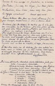 Doc.H Lettre Alexandre Voronoff – son beau-fils Pierre du 7 juin 1944 Clermont
