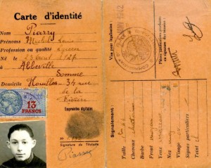 Document 11.  Michel JEIFA's false I.D. card