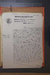 Document 7. Acte mariage Bernard JEIFA
