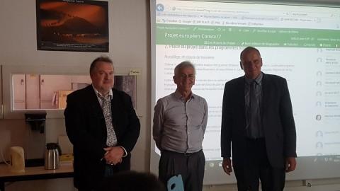 19/09/2018. Réunion d'information des enseignants de l'académie de Metz Nancy