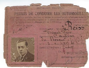 2 Francis REISS permis de conduire