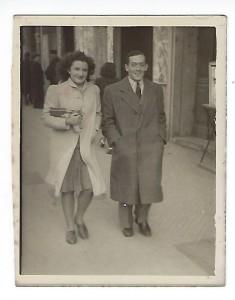 8 Francis REISS et Colette Marseille 4 mars 1942