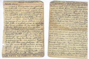 Lettre de Drancy de Francis REISS pour Colette
