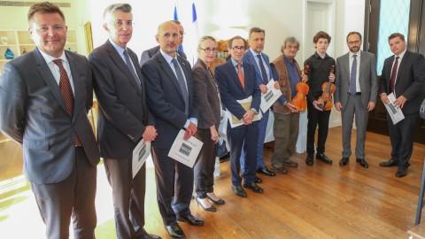 Rencontre avec les ambassadeurs de l'Union européenne en Israël