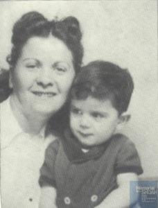 Gita et son fils Jean