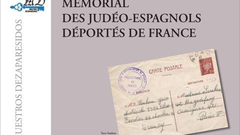 Ceremony in memory of Sephardim deported from France