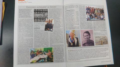 Sur ECA, le magazine de l'enseignement catholique