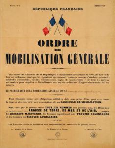Pierre MANUEL ordre mobilisation generale