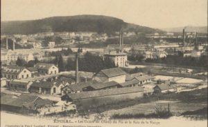 Pierre MANUEL_Carte Postale usine Khan et Lang