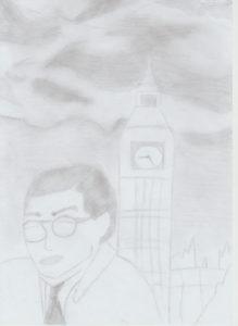 Pierre Manuel Londres par Lou Bernhard
