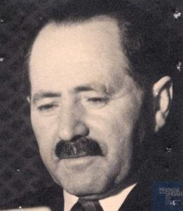 Armand HAGUENAUER né le 6 octobre 1889 déporté de Drancy le 31 juillet 1944 par le convoi n°77.