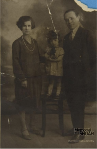 Violette et ses parents, Haïm et Sarah