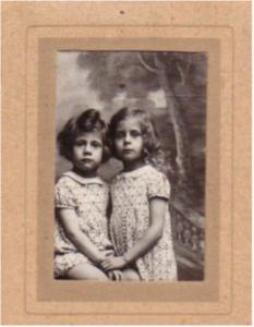 Les soeurs de Violette, Louise et Jeanine