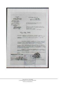 KREINDEL_Arthur Lettre Ministère des Anciens combattants