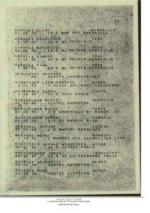 KREINDEL_Arthur janvier 45 Liste prisonniers Drancy vers Auschwitz ITS Archives