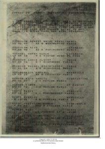 KREINDEL_Arthur janvier 45 Liste prisonniers transfert à Drancy Auschwitz ITS Archives