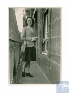 Jacqueline NADAUD née le 30 décembre 1920 déportée de Drancy le 31 juillet 1944 par le convoi n°77.