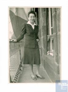 Jeanne NADAUD née le 7 novembre 1888 déportée de Drancy le 31 juillet 1944 par le convoi n°77.