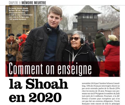 Ça m'intéresse – Comment on enseigne la Shoah en 2020