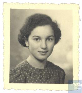 Charlotte SCHUMANN née le 12 janvier 1931 déportée de Drancy le 31 juillet 1944 par le convoi n°77.