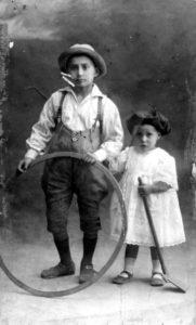 Charles et Hélène en 1921 à Kalisz