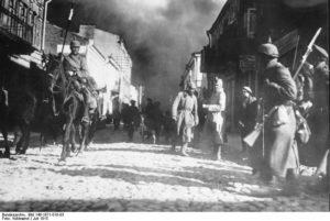 684846-ZAVADIER-Walter_German_Army_arriving_in_Siaulai