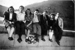 Jeunes juifs de Roanne: 22 juin 1941 au pont de Presles.