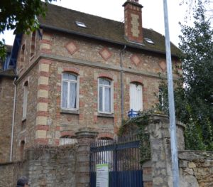 18 Rue de la Paix, Louveciennes. The home from where the children were arrested on 22 July 1944