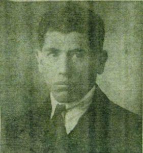 Moïse Szwindler, photo carte d'identité délivrée le 8 janvier 1926 par le préfet de la Seine Inférieure.