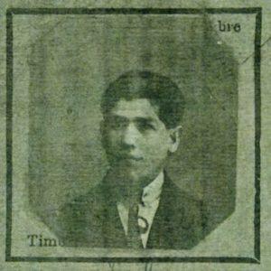Moïse Szwindler, photo d'identité sur demande de carte d'identité, 1923, archives départementales Rouen.