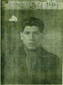 Moïse Szwindler, photo sur la demande de carte d'identité 2 janvier 1927