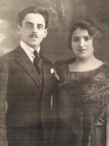 1 – Victor et Frieda Kohn – portrait – archive familiale