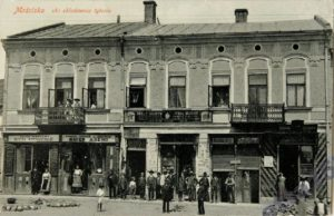 10 – Frieda Kohn – boutiques – mosciska- carte postale ancienne