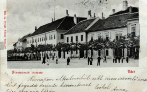 16 – Victor Kohn – rue à Vacz – carte postale ancienne