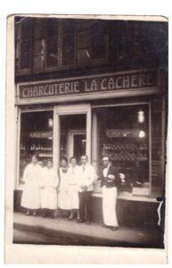 20 – Victor et Frieda Kohn – Frida-restaurant-La-cachere – archives familiales
