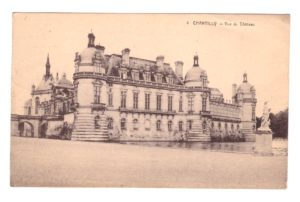 30 – Victor Kohn-a-Frida-verso-carte-Chantilly-14oct1939 – archives familiales