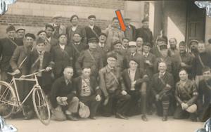 36 – Victor KOHN à l'armée (à Luzarches) vers 1939 – archive familiale