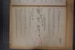 Demande d'attribution du statut de déporté, 1956