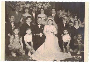 Le mariage de Suzanne et Eddy en 1949-archives familiales