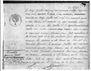 jugement décès de Joseph Borucki Tribunal de grande instance de Vienne