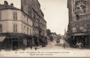 rue Pelleport il y a longtemps. (1)