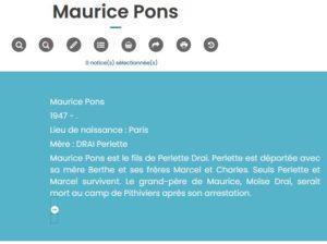 Capture maurice pons