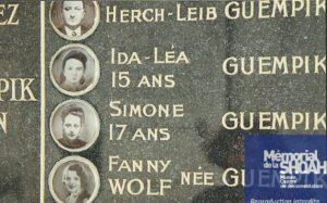 Capture photo monument tombe famille guempik