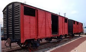 wagon déportés