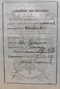 Carte d'identité Léa WARECH ADML 120W65 c